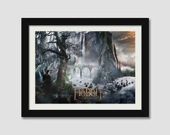 Quadro Moldura Hobbit Cinema Decor Filme