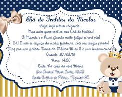 Tag Convite Chá De Fraldas Gratis Para Imprimir