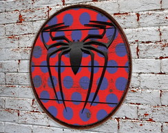 Placa Redonda Super Her�is Spiderman