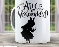 Caneca Alice in Wonderland 983