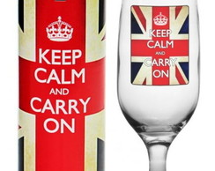 Ta�a Decorada Keep Calm And Carry On
