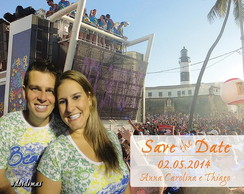 Save The Date Digital com foto