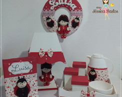 Kit Personalizado Joaninha - 9pe�as