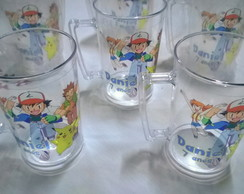 Caneca 400ml pokemon