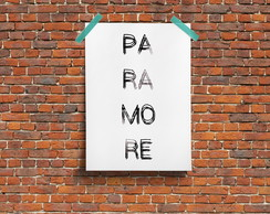 Paramore P�ster Decor