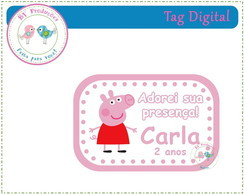Tag Digital - Peppa Pig
