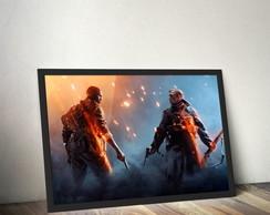 Quadro Battlefield - EA GAMES comprar usado  Brasil
