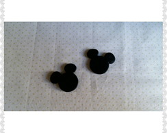 Apliques mickey em biscuit