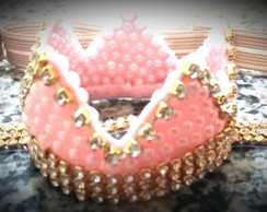 Head band beb� coroa princesa