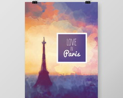 P�ster Love in Paris