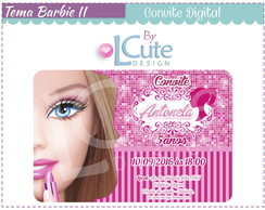Convite Digital - Barbie II