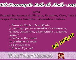 Kit Decora��o Sala de Aula