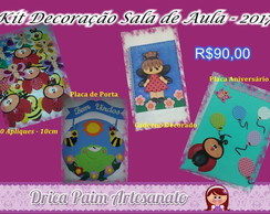 Kit Decora��o Sala de Aula - Bichinhos