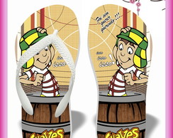 Chinelo personalizado Chaves