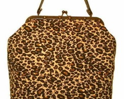 Bolsa Grande Estampada-On�a