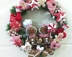 Guirlanda Gingerbreads 50 cm diametro