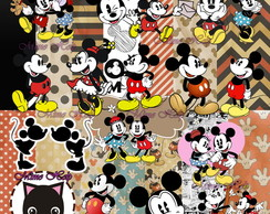 Kit Digital Mickey Vintage