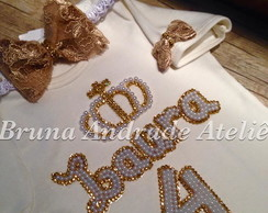 body com n. bordado de strass tiara sapt