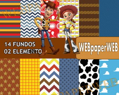Kit Scrapbook Digital Woody & Jessie