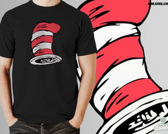 Camiseta GATO DO CHAP�U