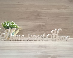 Frase decorativa Home sweet Home LS