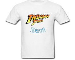 Camiseta Infantil Indiana Jones