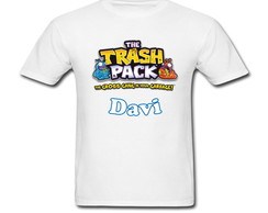 Camiseta Infantil Trash Pack