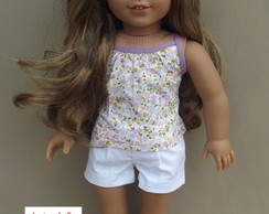 Look lil�s/branco American Girls