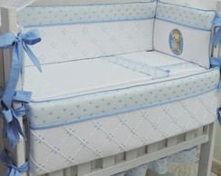 KIT MINI BER�O 9 PE�AS AZUL URSINHO