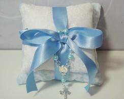Sach� Batizado Almofadas Azul