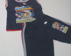 Conjunto infantil 1/2/3 at� 3 anos .