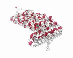 Conjunto Red Queen Rock Cherry