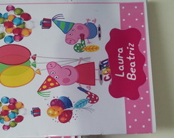 Kit de Colorir DiMagia Peppa Pig Festa