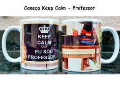 Caneca Keep Calm Professor(a)