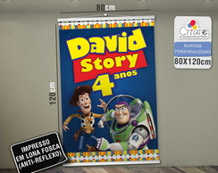 Banner Personalizado - Toy Story