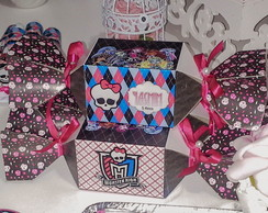 Caixa Bala Monster High