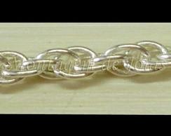 CR006-7 - Corrente Prata 950 - 7cm
