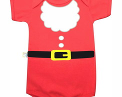body roupa de papai noel barba