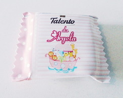 R�tulo Chocolate Mini Talento Arca No�