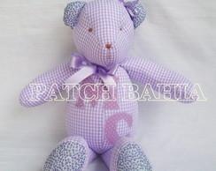 Urso de Pano em Patchwork