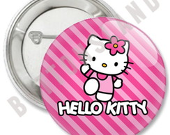 B�TONS HELLO KITTY - �M� E ALFINETE