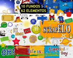 Kit Scrapbook Digital Pequeno Principe 2