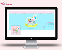 Kit Visual (Logo + Cart�o + Capa)