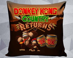 Almofada Donkey Kong Country Returns