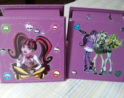 Kit caixas monster high