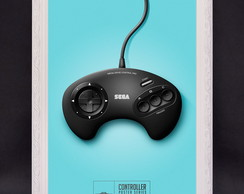 Usado, Quadro Controle Mega Drive Game comprar usado  Brasil