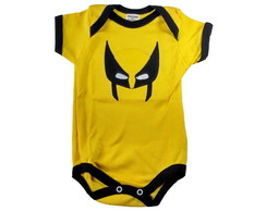 Body Bordado Wolverine M. Curta M