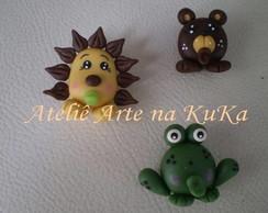 Le�o, Urso e Sapo - Bichinhos Baby