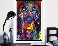 Quadro Cachorro Dog Pet Art Decoracao