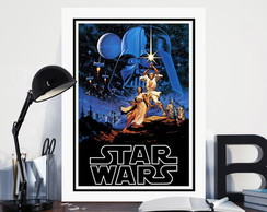 Quadro 60x40cm Star Wars - Darth Vader
